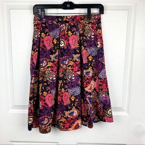 Lularoe Colorful Pleated Skirt